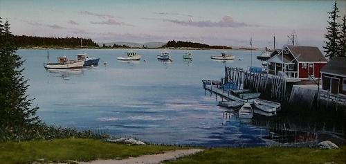Owls Head , ME - Oil Painting